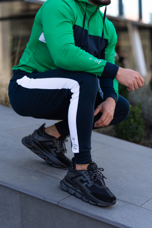 Trening bumbac Care-Fit Green/Navy [5]