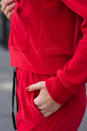 Trening Catifea Velvet Depths Red [5]