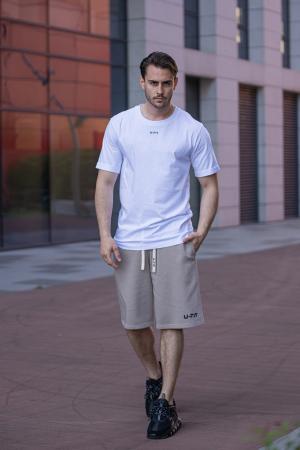 Tricou Barbati Column White [5]