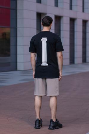 Tricou Barbati Column Black [4]