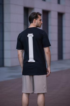 Tricou Barbati Column Black [7]