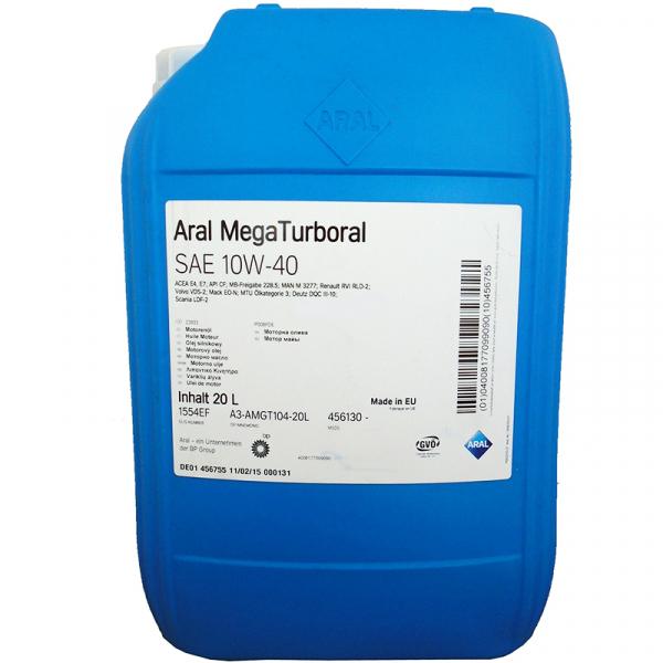 Aral Mega turboral 10W40 - 20 Litri 0