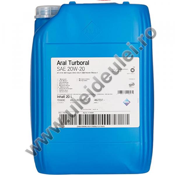 Aral Turboral 20W20 - 20 Litri 0