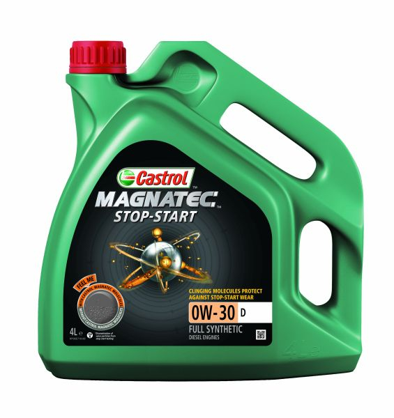 Castrol Magnatec Stop-Start 0W30 D - 4 Litri 0