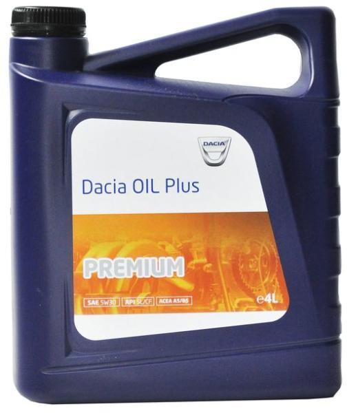 DACIA OIL Plus Premium (6001999716) 5W30 - 4 Litri 0