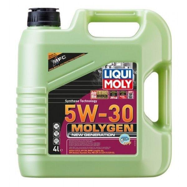 Liqui Moly Molygen DPF 5W30 - 4 Litri 0