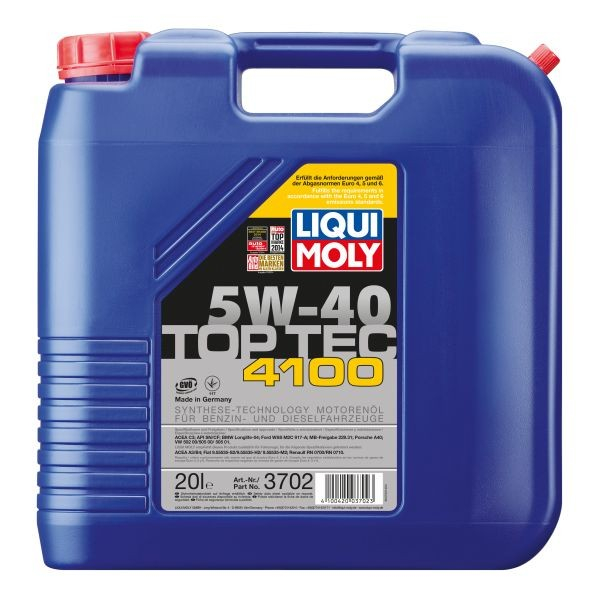 Liqui Moly Top Tec 4100 5W-40 - 20 Litri 0