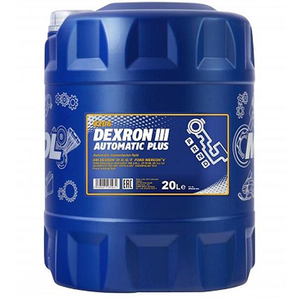 MANNOL Dexron III Automatic Plus - 20 Litri 0