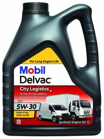 Mobil Delvac City Logistics F 5W-30 - 4 Litri 0