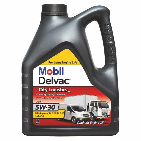 Mobil Delvac City Logistics M 5W-30 - 4 Litri [0]