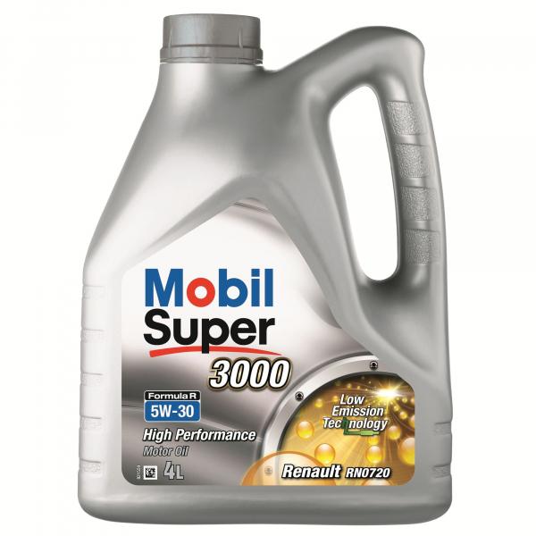 Mobil Super 3000 Formula R 5W30 - 4 Litri 0