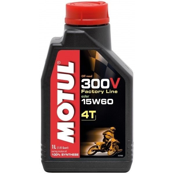 Motul 300V 4T Factory Line Off Road 15W60 - 1 Litru 0