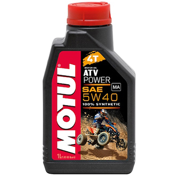 Motul ATV Power 4T 5W40 - 1 Litru 0