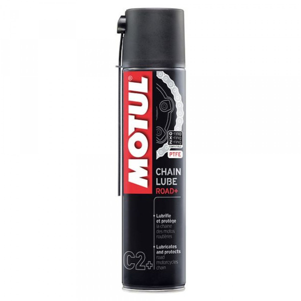 Spray de lant Motul Chain Lube Road Plus C2+ - 400 ml 0