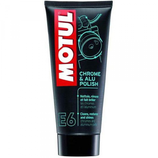 Polish crom si aluminiu Motul Chrome & Alu Polish E6 - 100 ml 0