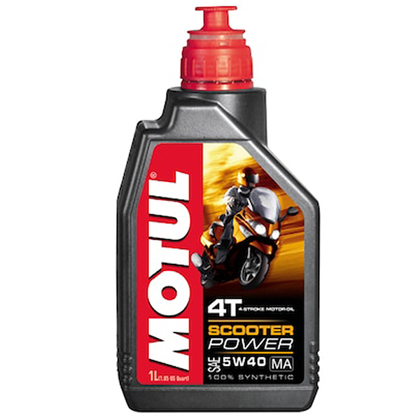 Motul Scooter Power 4T 5W40 - 1 Litru 0