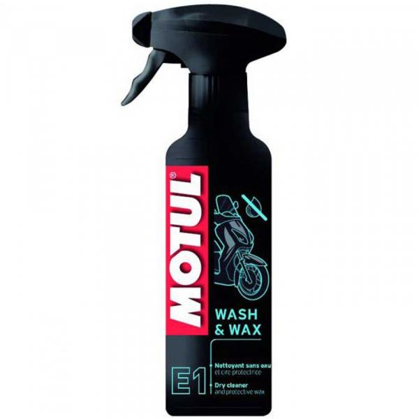 Solutie curatare si lustruire Motul Wash&Wax E1 - 400 ml 0