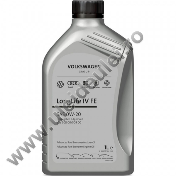 Ulei motor OE Volkswagen/Audi/Seat/Skoda Longlife IV FE 0W20 - 1 Litru 0