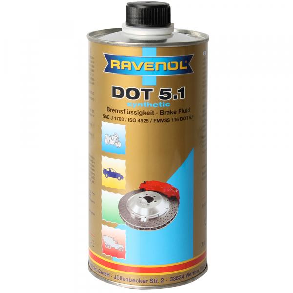 Lichid de frana Ravenol DOT 5.1 - 1 Litru 0
