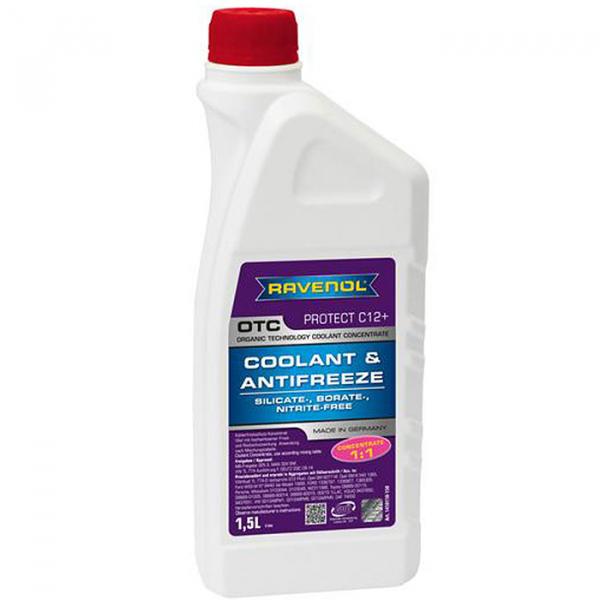 Antigel rosu concentrat Ravenol OTC - 1,5 Litri 0