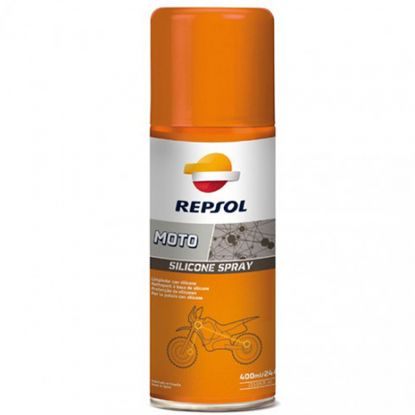 Repsol Moto Silicone Spray - 400 ml 0