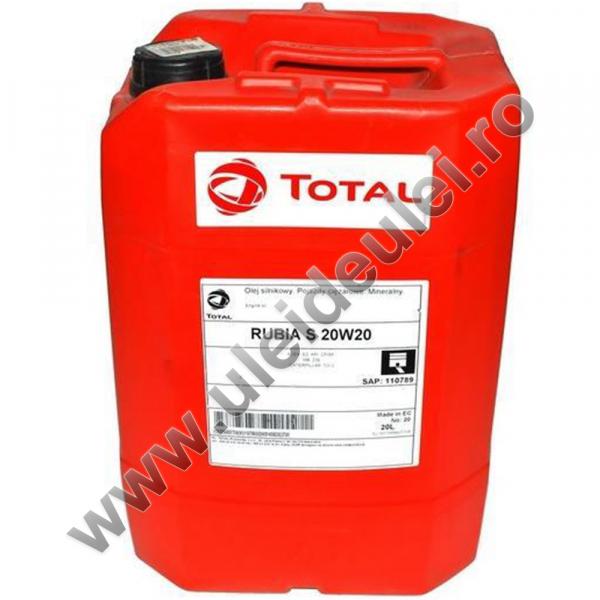 Total RUBIA S 20W20 - 20 Litri 0