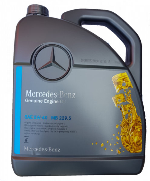 Ulei OE Mercedes 5W40 (229.5) - 5 Litri 0
