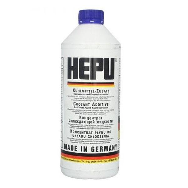 Antigel albastru concentrat HEPU G11 - 1,5 Litri [0]