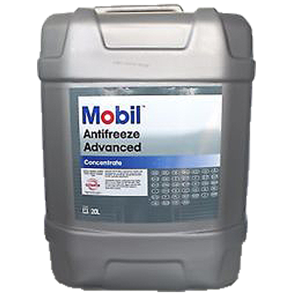 Antigel concentrat rosu/roz Mobil Antifreeze Advanced G12/G12+ - 20 Litri 0