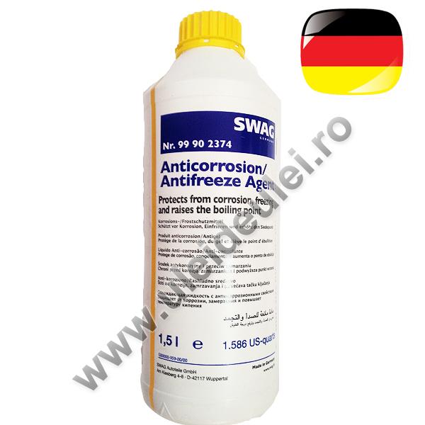 Antigel galben/verde concentrat SWAG G11- 1,5 Litri 0