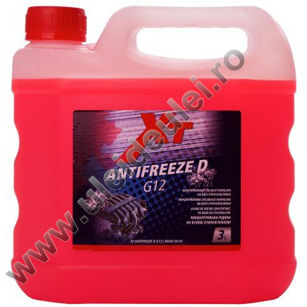 Antigel roz concentrat XT - 3 Litri 0