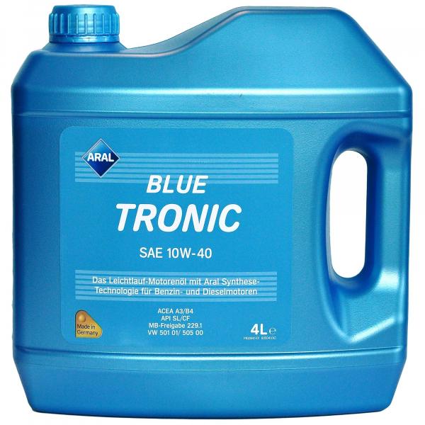 Aral Blue Tronic 10W40 - 4 Litri 0