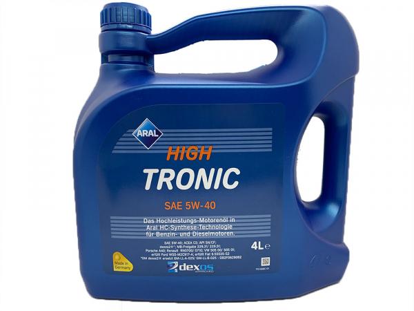 Aral High Tronic 5W40 - 4 Litri 0