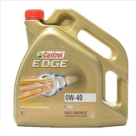 Castrol Edge 0W40 - 4 Litri 0
