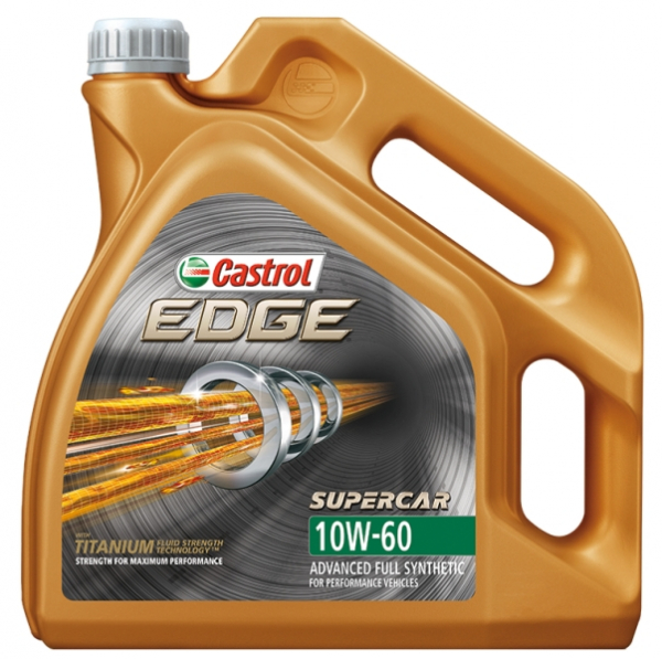 Castrol Edge Supercar 10W-60 - 4 Litri 0