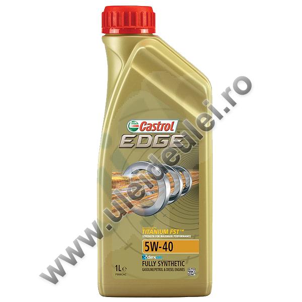 Castrol Edge 5W40 Turbo Diesel Titanium FST - 1 Litru 0