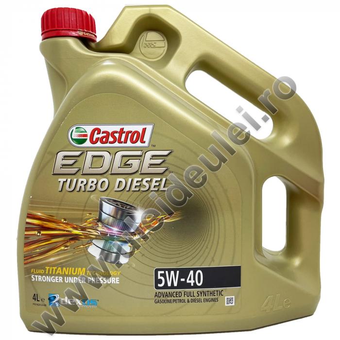 Castrol Edge 5W40 Turbo Diesel Titanium FST - 4 Litri [0]