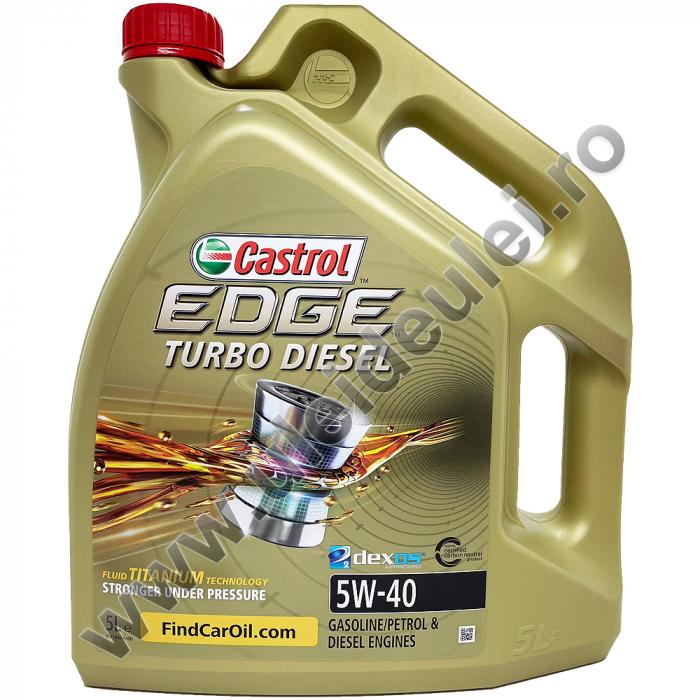 Castrol Edge 5W40 Turbo Diesel Titanium FST - 5 Litri [0]