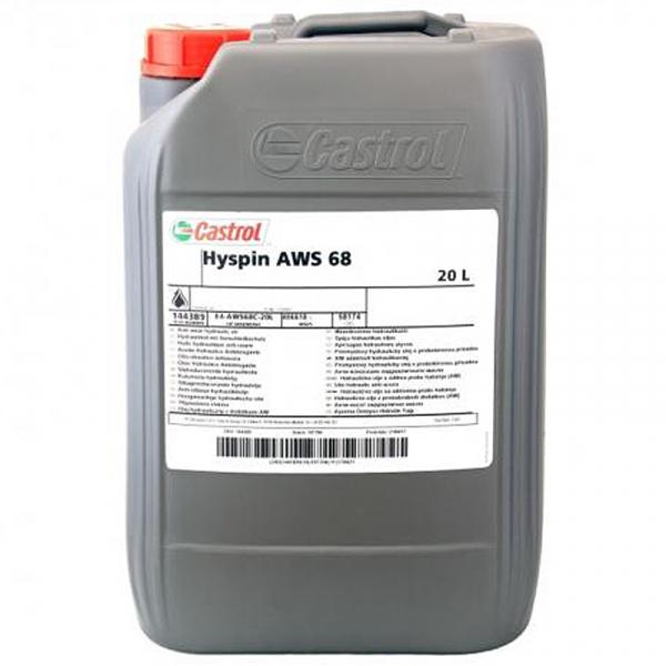 Ulei hidraulic Castrol Hyspin AWS 68 - 20 Litri 0