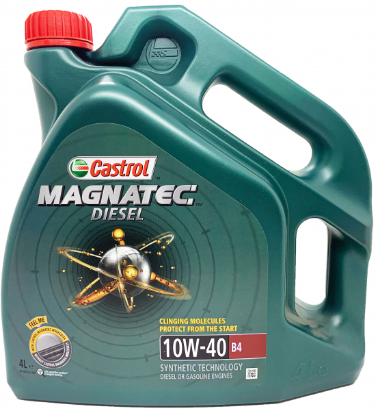 Castrol Magnatec 10W40 Diesel B4 - 4 Litri 0