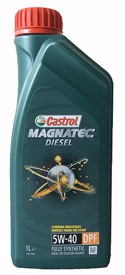 Castrol Magnatec 5W40 Diesel DPF - 1 Litru 0