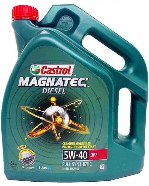 Castrol Magnatec 5W40 Diesel DPF - 5 Litri 0