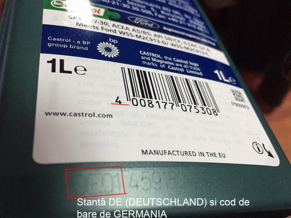 Castrol Magnatec Professional Ford A5 5W30 (GERMANIA) - 1 Litru 1