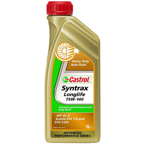 Castrol Syntrax Longlife 75W140 - 1 Litru 0