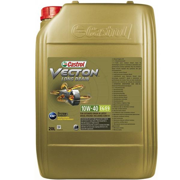 Castrol Vecton Long Drain E6/E9 10W40 - 20 Litri 0