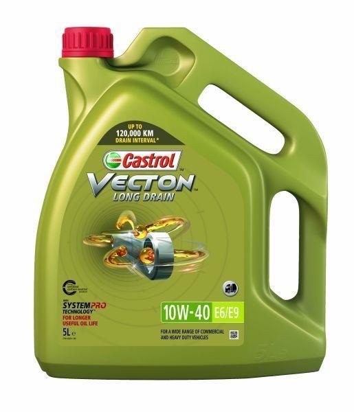 Castrol Vecton Long Drain E6/E9 10W40 - 5 Litri 0