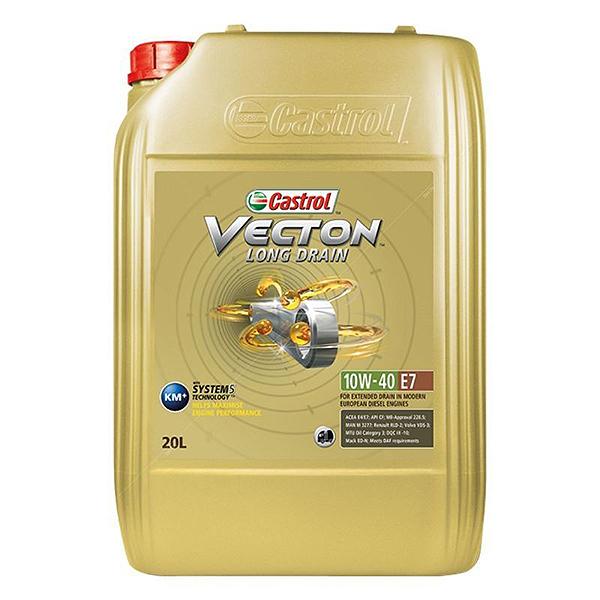 Castrol Vecton Long Drain E7 10W40 - 20 Litri 0