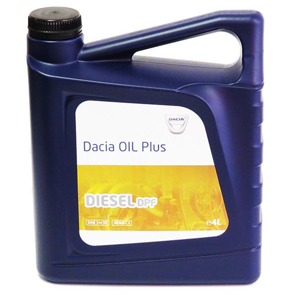 DACIA OIL Plus (6002005675) Diesel DPF 5W30 - 4 Litri 0