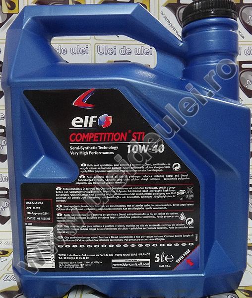 Elf Evolution 700 STI 10W40 - 4 Litri 1