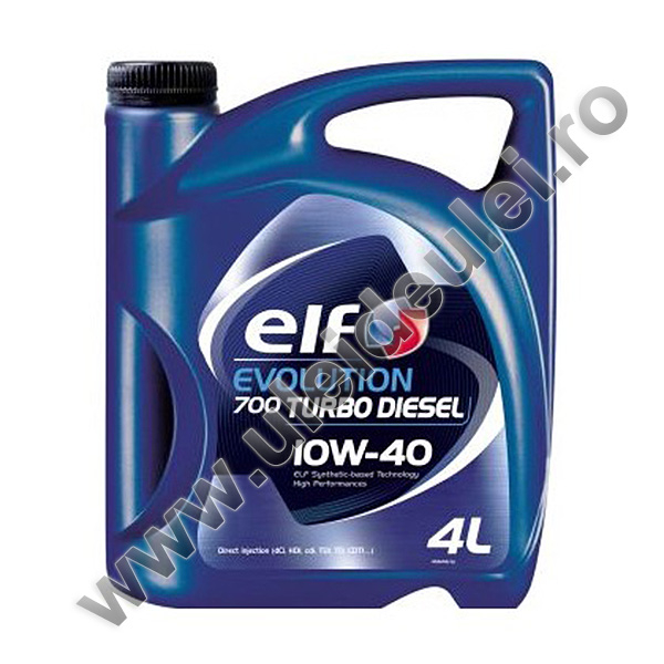 Elf Evolution 700 Turbo Diesel 10W40 - 4 Litri 0